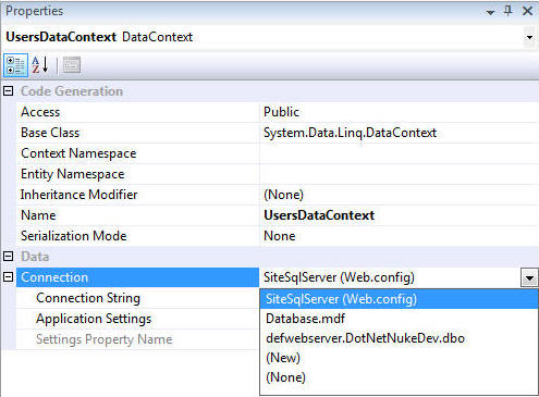 Using LINQ to SQL with DotNetNuke > DNN Software