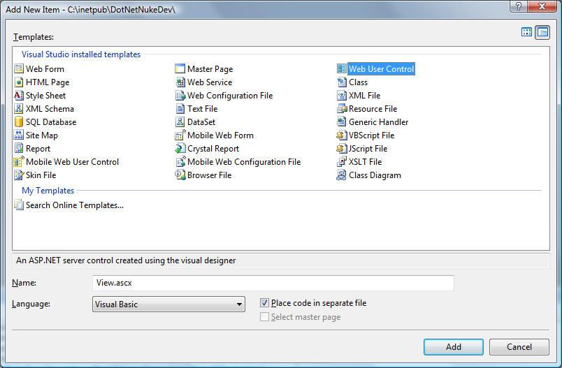DotNetNuke: Easily Create Reports using the ReportViewer